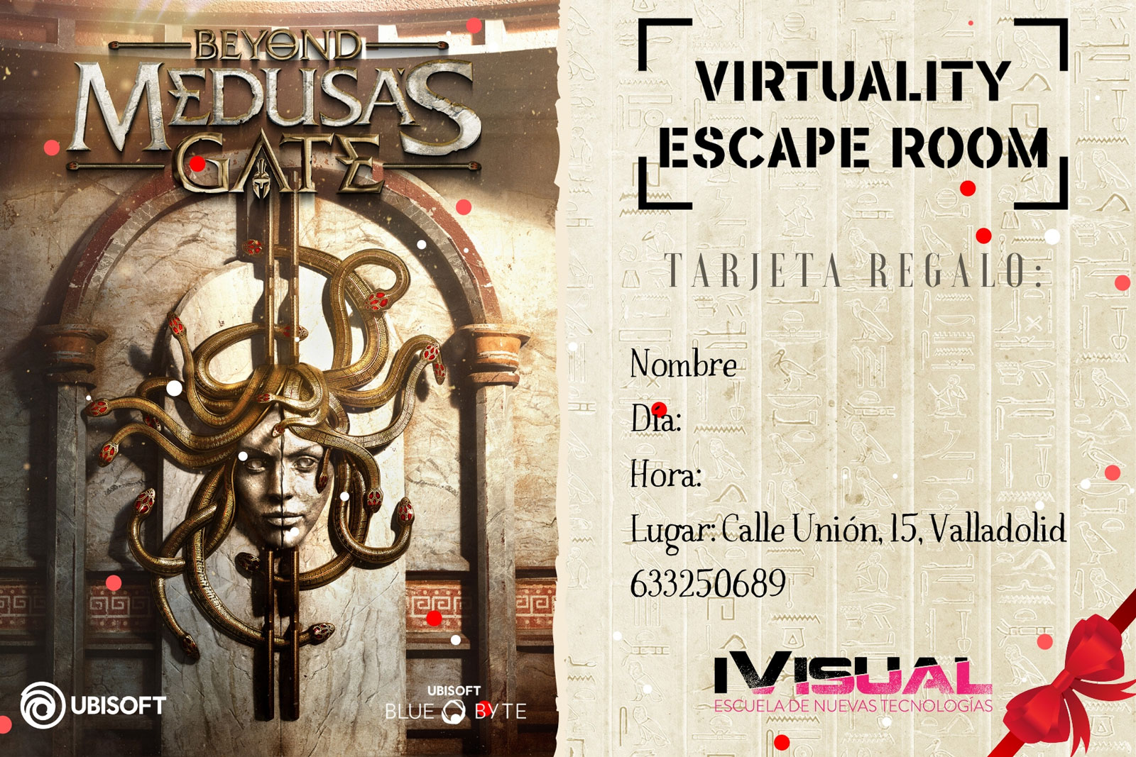 Tarjeta-regalo-Beyond-Medusas-Gate-Virtuality-Escape-Room